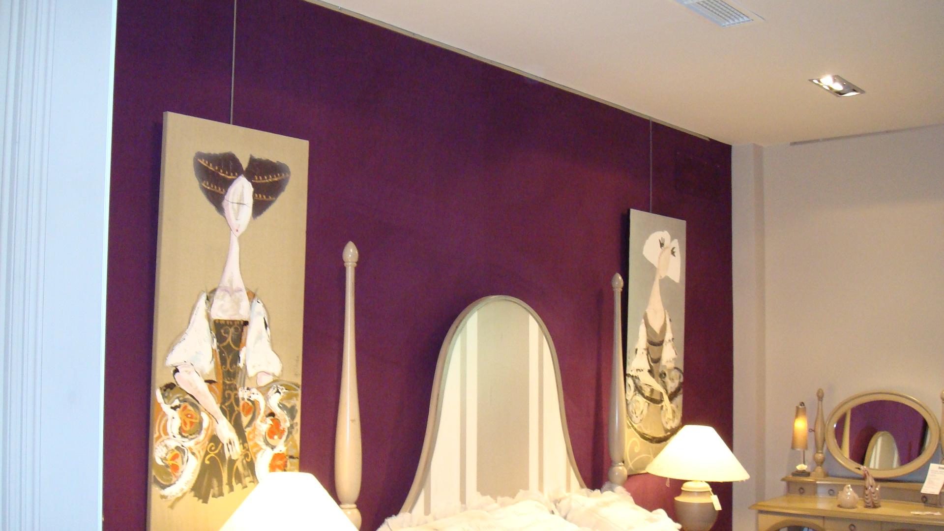 Tapizado pared 9 tapicer a hermanos moreno m laga - Telas decorativas para paredes ...